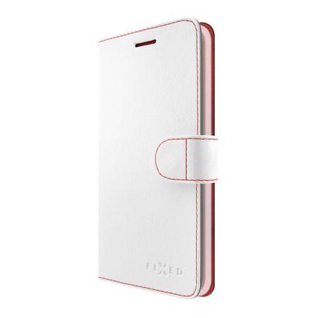 Fixed Notesz típusú Fit tok Huawei Y5 (2017)/ Y6 (2017) telefonra, fehér