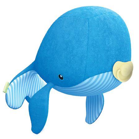 TM Toys Ocean Hugzzz Octopi Kisbálna + jeladó