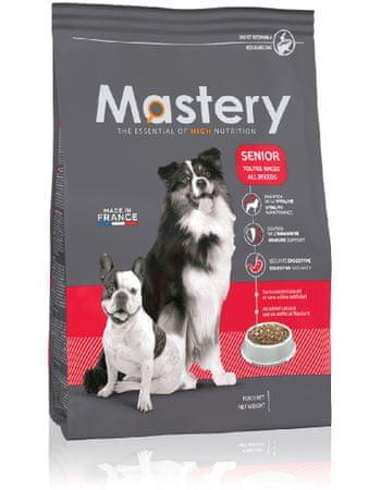 Mastery DOG Senior Száraz kutyatáp, 12 kg