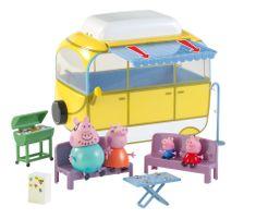 TM Toys Peppa Pig - Kamper z akcesoriami + 4 figurki