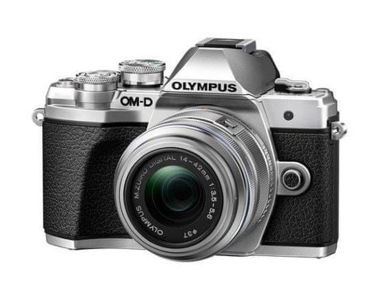 Olympus OM-D E-M10 Mark III + 14-42 mm II R Silver