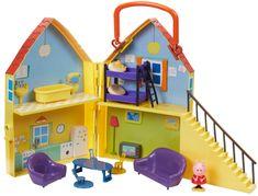 TM Toys Peppa Pig - ház figúrákkal és felszereléssel