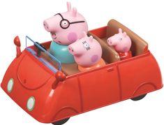 TM Toys Peppa Pig - családi autó