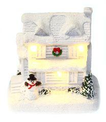 Seizis Domek polystone s LED bílý