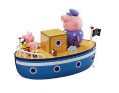 TM Toys Peppa Pig - Hajó +3 figura