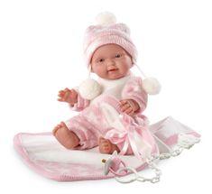 Llorens Lalka New Born - dziewczynka 26270