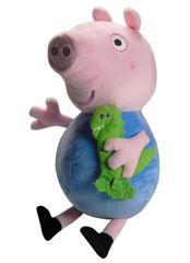 TM Toys Peppa Pig - plyšový George s kamarátom 35,5 cm