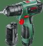 2 - Bosch akumulatorski vrtalni vijačnik EasyDrill 1200 (2x 1,5 Ah akum. baterija)