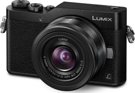 Panasonic digitalni fotoaparat Lumix DMC-GX800 + 12-32 mm, črn