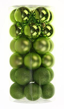 Seizis plastične kuglice, zelena mješavina, 30 komada
