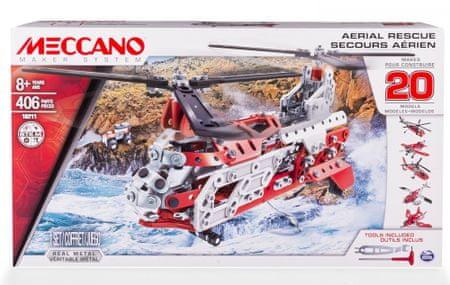 MECCANO Meccano Zestaw - helikopter 20 wariantów w 1