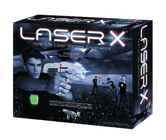 TM Toys Laser-X pištoľ s infračervenými lúčmi sada pre jedného hráča