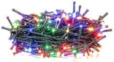 Retlux Vianočná reťaz 50LED časovač multicolor