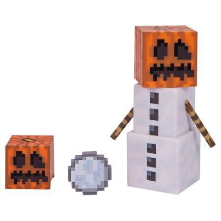 TM Toys Minecraft - Snow Golem gyűjtőfigura kiegészítőkkel