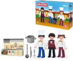 Igráček zestaw TRIO - kucharze