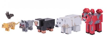 TM Toys Minecraft - Wild Animal Pack sada zberateľských figúrok