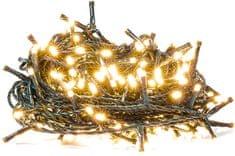 Retlux Vianočná reťaz 200LED časovač, teplá biela