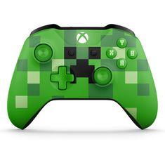 Microsoft Xbox One S Gamepad Minecraft Creeper Kontroller