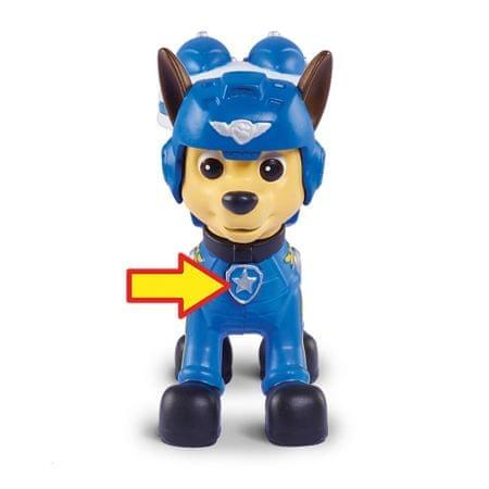 Spin Master Paw Patrol kék Chase figura légi kiegészítőkkel