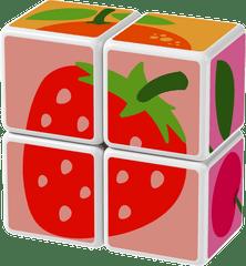 Geomag Magicube - Zestaw Owoce