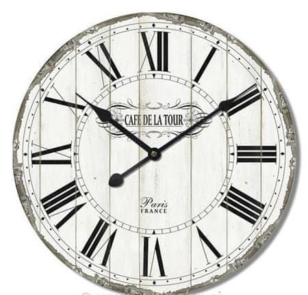 BR stenska ura, retro Cafe de la Tour, premer 60 cm