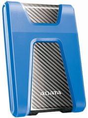 """A-Data HD650 1TB / Externí / USB 3.0 / 2,5"""" / Blue (AHD650-1TU31-CBL)"""