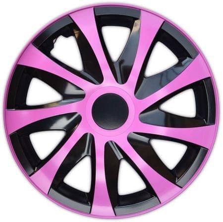 Versaco kołpaki KORZO Pink/Black 14'' (4 szt.)