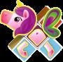 4 - Geomag Magicube - hercegnő készlet