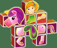 Geomag Magicube - Sada princezné
