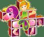 1 - Geomag Magicube - hercegnő készlet