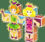 5 - Geomag Magicube - hercegnő készlet