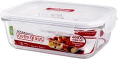 Lock&Lock pudełko na żywność ze szkła borokrzemianowego spożywczego 1 l