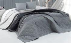 BedTex Prikrývka Eifel Sivá 220x240 + 2x40x40 cm