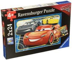 Ravensburger Disney Autá 3: Môžem vyhrať! 2x24 dielikov
