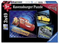 Ravensburger Disney Auta 3 II: 3x49 elementu