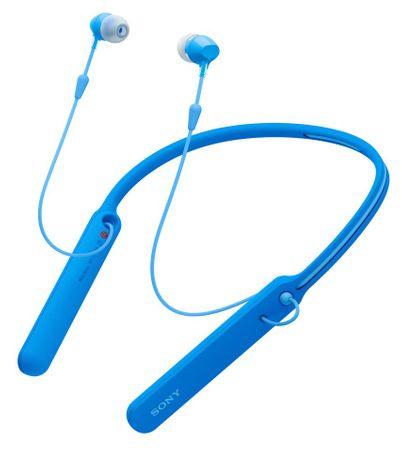 SONY słuchawki bezprzewodowe WI-C400, niebieski