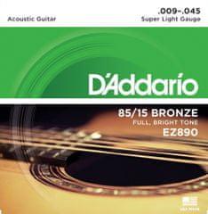 Daddario EZ890 Kovové struny na akustickú gitaru
