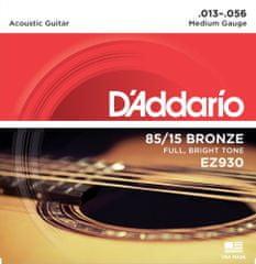 Daddario EZ930 Kovové struny na akustickú gitaru