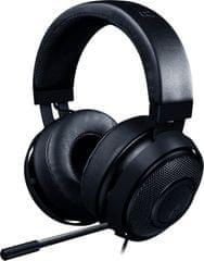 Razer slušalke Kraken PRO V2,ovalne ušesne blazinice, črne