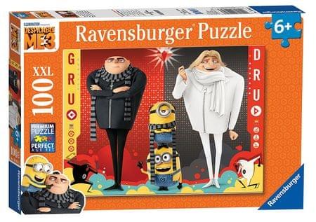 Ravensburger Puzzle Minionki Jak ukraść Księżyc 3 (100 elementów)