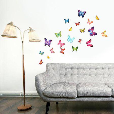 Walplus Samolepky s motýľmi WS4014