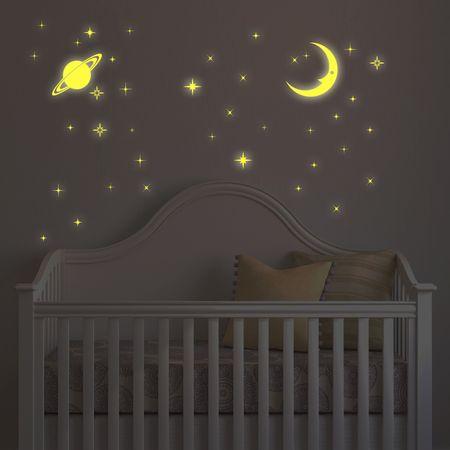 Walplus Svítící měsíc a hvězdy WS3036