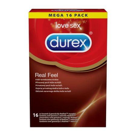 Durex Real Feel kondomi, 16 kos