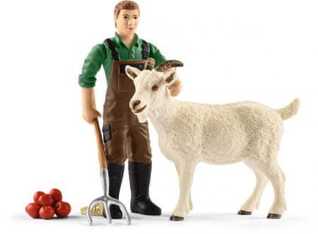 Schleich Gazda kecskével
