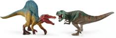 Schleich Set Spinosaurus a T-rex malý