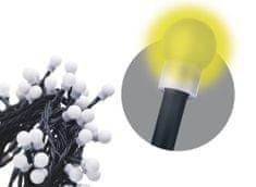 Emos svetlobna veriga, 480 LED – kroglice, 48 m, topla bela, s časovnikom