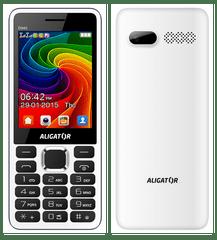 Aligator D940, Dual SIM, bílý
