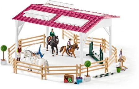 Schleich Lovasiskola lovasokkal és lovakkal 42389 outlet