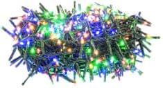 Retlux reťaz ježko 600LED multicolor
