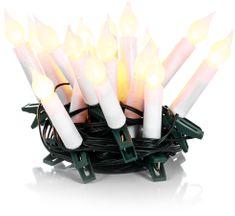 Retlux řetěz svíčky 20LED teplá bílá